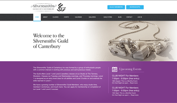 Silversmith Guild website launches in July 2016!