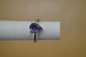 Very advanced amethyst ring